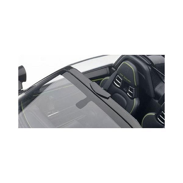 ポルシェ 918 スパイダー バイザッハ・パッケージ ブラックM (1/18 オートアート77928)|v-toys|04