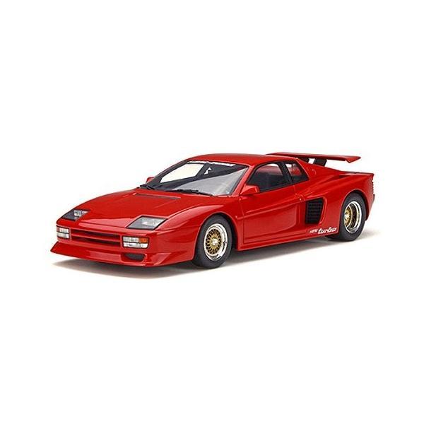 ケーニッヒ テスタロッサ ツインターボ レッド (1/18 GTスピリット GTS124)|v-toys