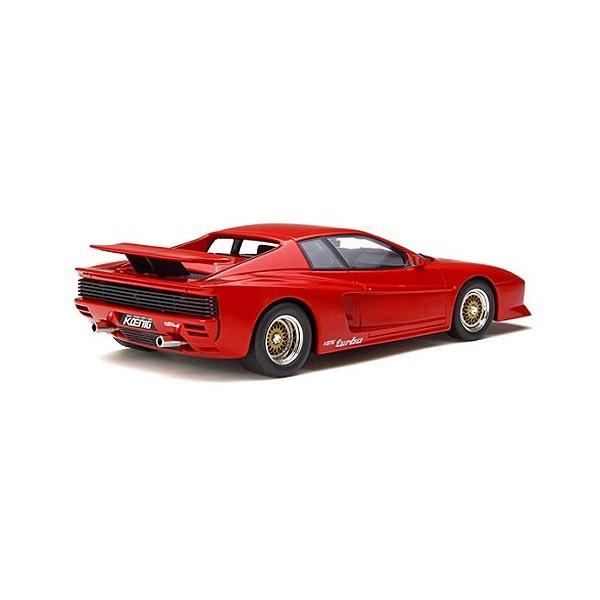 ケーニッヒ テスタロッサ ツインターボ レッド (1/18 GTスピリット GTS124)|v-toys|04