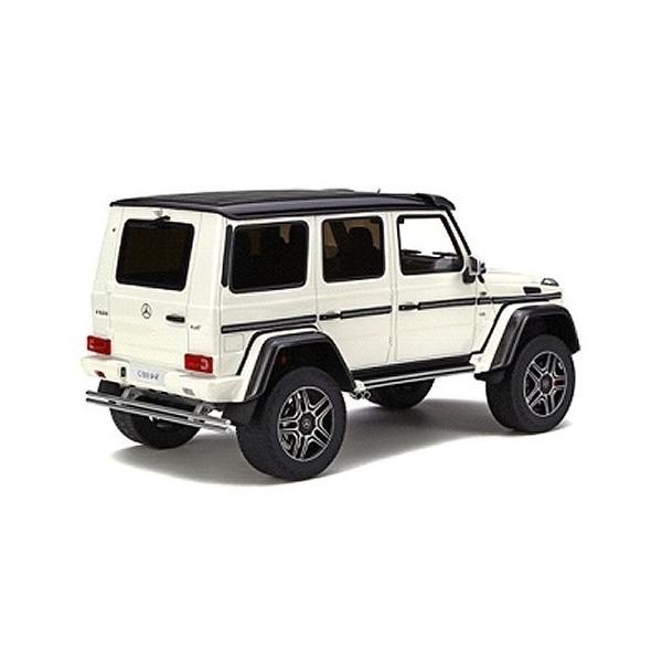 メルセデスベンツ G500 4×4(2乗) ホワイト (1/18 GTスピリット GTS142)|v-toys|02