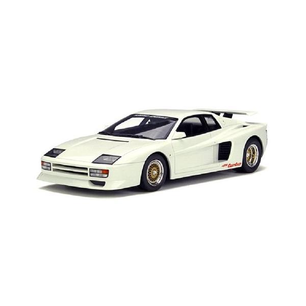 ケーニッヒ テスタロッサ ツインターボ ホワイト (1/18 GTスピリット GTS012KJ)|v-toys