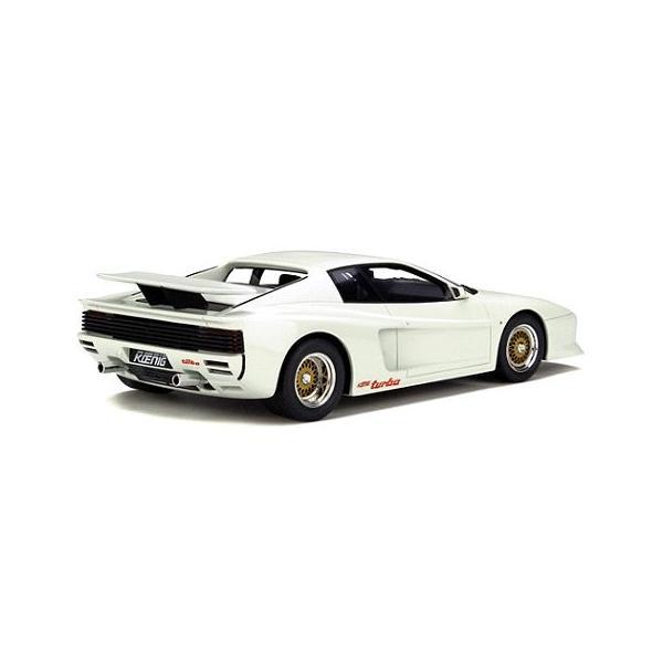 ケーニッヒ テスタロッサ ツインターボ ホワイト (1/18 GTスピリット GTS012KJ)|v-toys|02