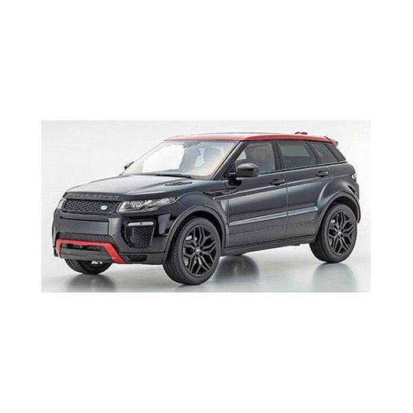 レンジ ローバー イヴォーク エンバー リミテッド エディション サントリーニブラック (1/18 京商KSC09549BK)|v-toys