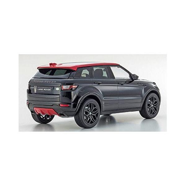 レンジ ローバー イヴォーク エンバー リミテッド エディション サントリーニブラック (1/18 京商KSC09549BK)|v-toys|02