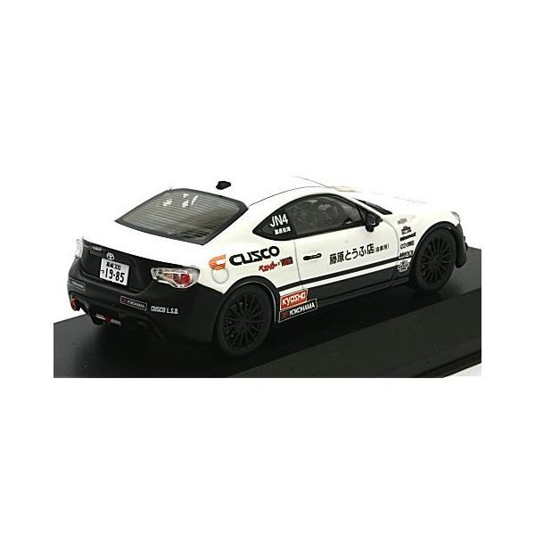 トヨタ 86 頭文字D CUSCO (1/43 京商KS03634C15)|v-toys|02