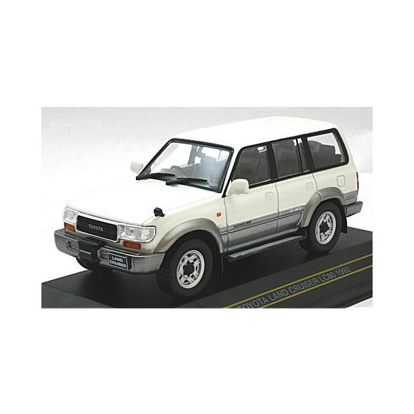 トヨタ ランドクルーザー LC80 1992 ホワイト/グレイ (1/43 ファースト43 F43-059)|v-toys