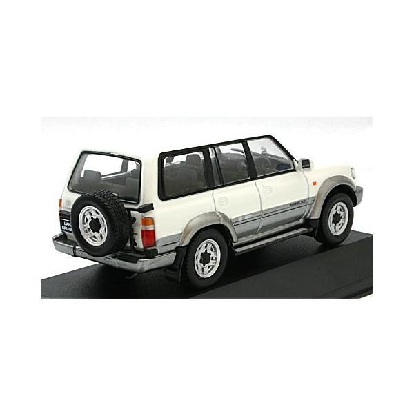 トヨタ ランドクルーザー LC80 1992 ホワイト/グレイ (1/43 ファースト43 F43-059)|v-toys|02