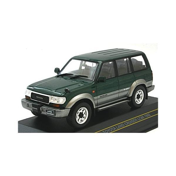 トヨタ ランドクルーザー LC80 1992 グリーン/グレイ (1/43 ファースト43 F43-060)|v-toys