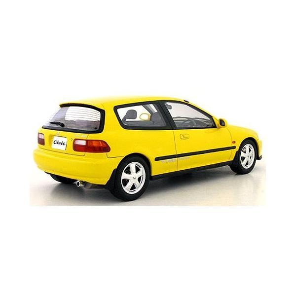 ホンダ シビック SiRII (EG6) イエロー (1/18 オットーモビル OTM711)|v-toys|02