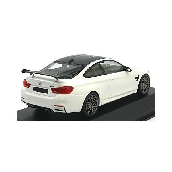BMW M4 GTS 2016 ホワイト/グレーホイール (1/43 ミニチャンプス410025221)|v-toys|02
