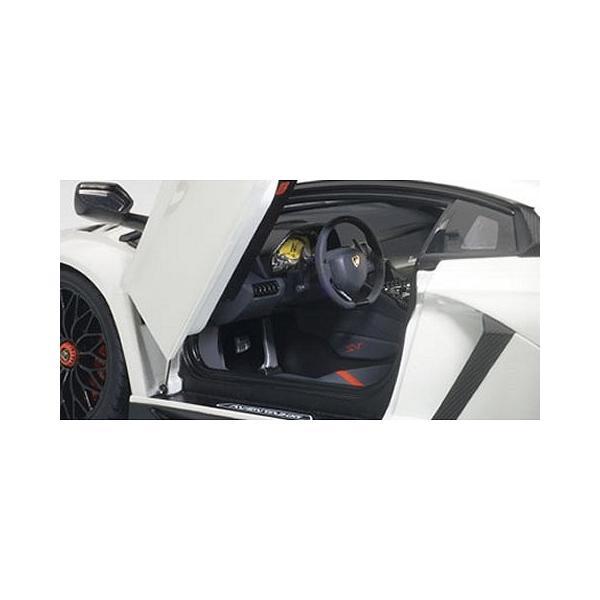 ランボルギーニ アヴェンタドール LP750-4 SV パールホワイト (1/18 オートアート74555)|v-toys|02
