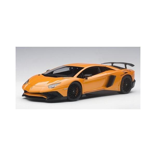 ランボルギーニ アヴェンタドール LP750-4 SV Mオレンジ (1/18 オートアート74557)|v-toys