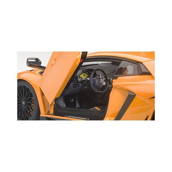 ランボルギーニ アヴェンタドール LP750-4 SV Mオレンジ (1/18 オートアート74557)|v-toys|02