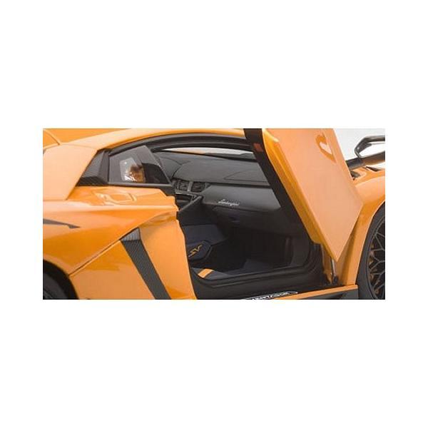 ランボルギーニ アヴェンタドール LP750-4 SV Mオレンジ (1/18 オートアート74557)|v-toys|03