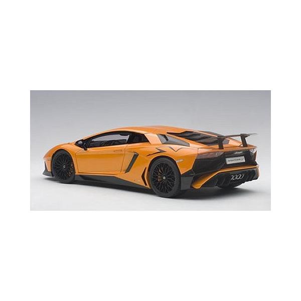 ランボルギーニ アヴェンタドール LP750-4 SV Mオレンジ (1/18 オートアート74557)|v-toys|05