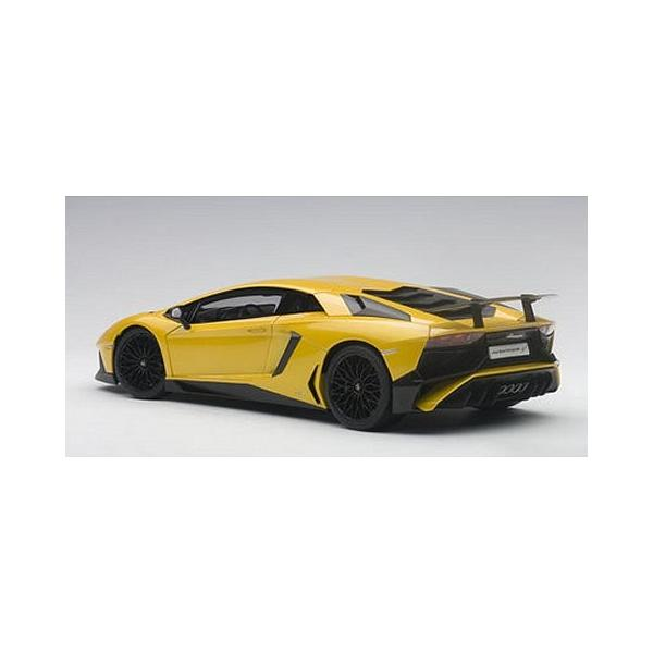 ランボルギーニ アヴェンタドール LP750-4 SV Mイエロー (1/18 オートアート74558)|v-toys|05