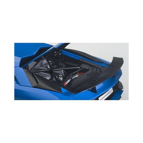 ランボルギーニ アヴェンタドール LP750-4 SV ブルー (1/18 オートアート74559) v-toys 03