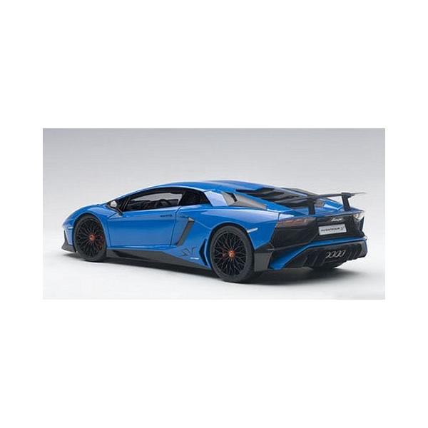 ランボルギーニ アヴェンタドール LP750-4 SV ブルー (1/18 オートアート74559) v-toys 05