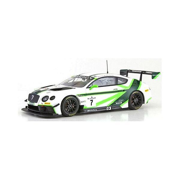 ベントレー GT3 ラウンチ リバリー GT3 2016 No7 ホワイト/グリーン (1/43 オルモストリアルAL430316)|v-toys