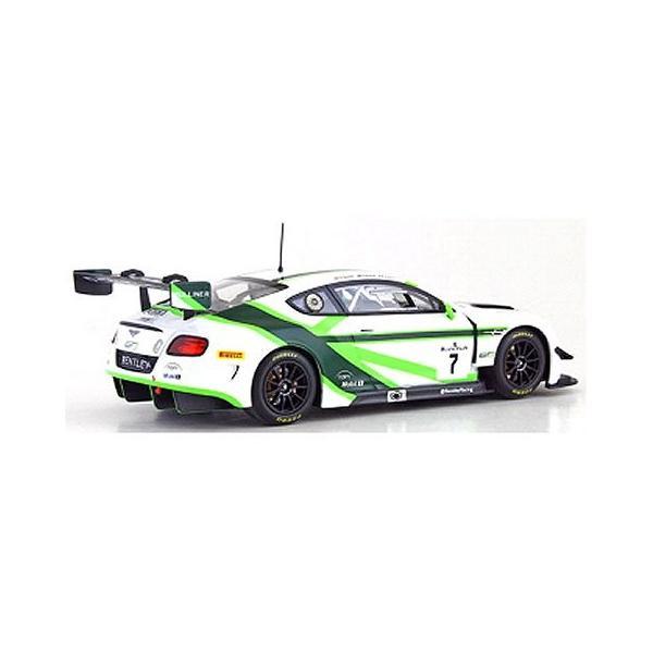 ベントレー GT3 ラウンチ リバリー GT3 2016 No7 ホワイト/グリーン (1/43 オルモストリアルAL430316)|v-toys|02