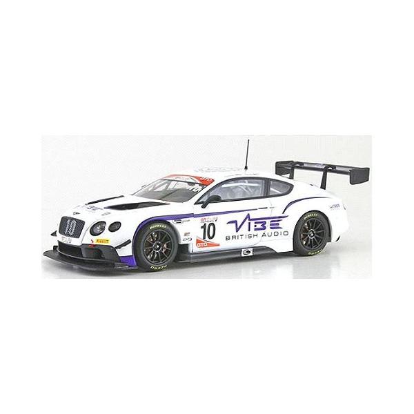 ベントレー コンチネンタル GT3 ジョーダン ウィット レーシング No10 2016 GT CUPシリーズ チャンピオン ホワイト/パープル (1/43 オルモストリアルAL430317)|v-toys