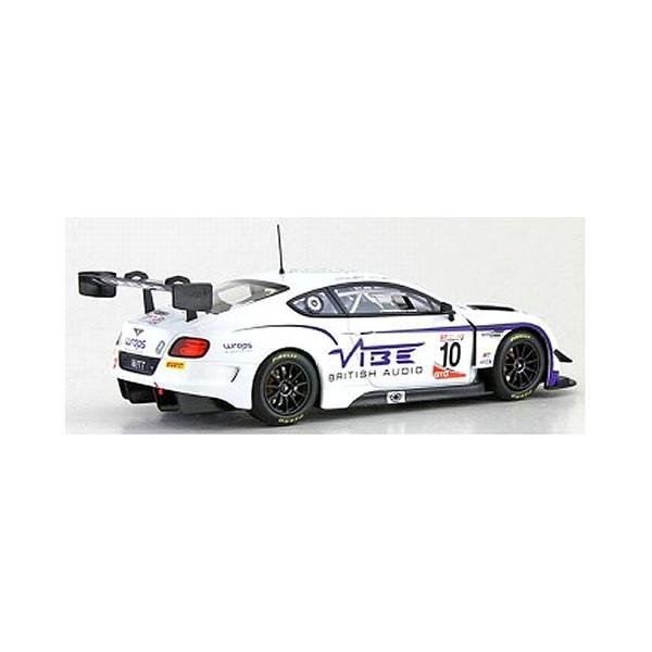 ベントレー コンチネンタル GT3 ジョーダン ウィット レーシング No10 2016 GT CUPシリーズ チャンピオン ホワイト/パープル (1/43 オルモストリアルAL430317)|v-toys|02
