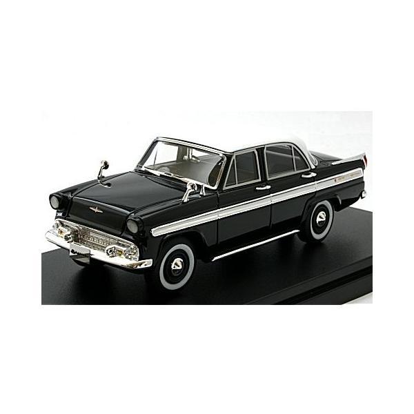 プリンス スカイライン デラックス 1957 ブラック (1/43 ハイストーリーHS184BK)|v-toys