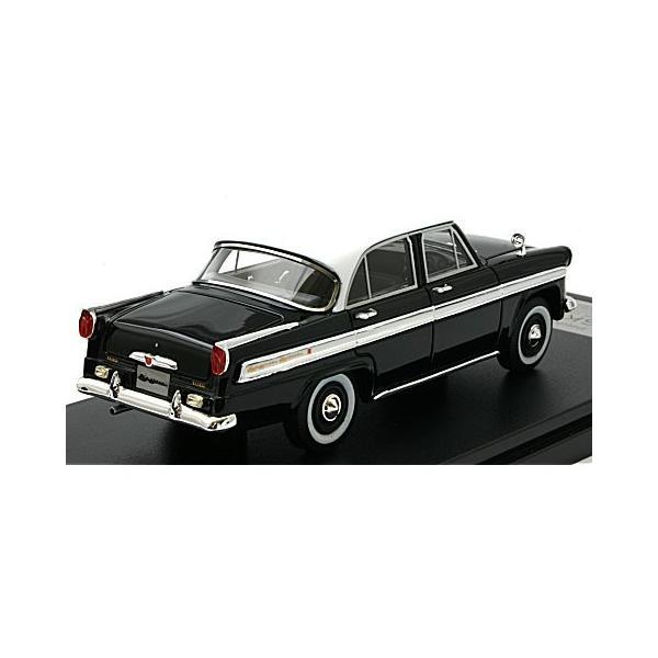 プリンス スカイライン デラックス 1957 ブラック (1/43 ハイストーリーHS184BK)|v-toys|02