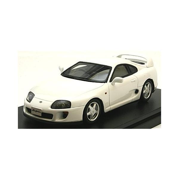 トヨタ スープラ RZ 1995 スーパーホワイトII (1/43 ハイストーリーHS199WH)|v-toys