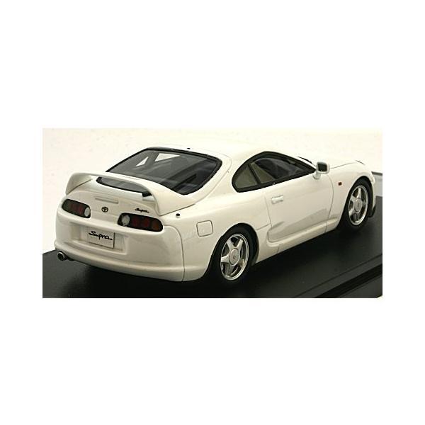 トヨタ スープラ RZ 1995 スーパーホワイトII (1/43 ハイストーリーHS199WH)|v-toys|02
