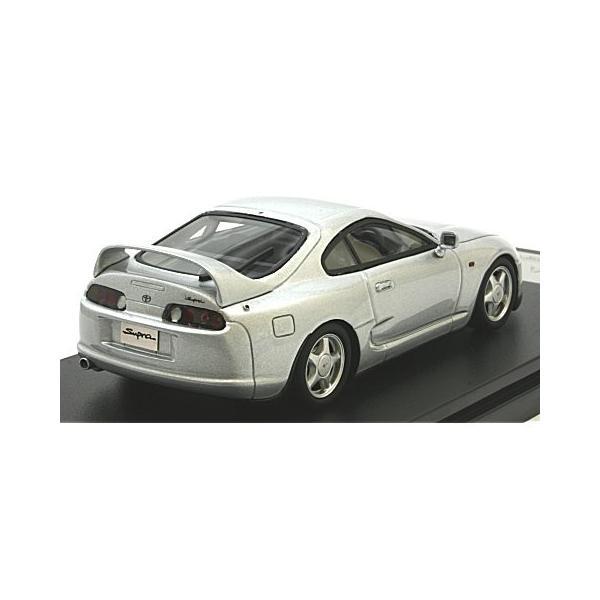 トヨタ スープラ RZ 1995 シルバーM (1/43 ハイストーリーHS199SL)|v-toys|02