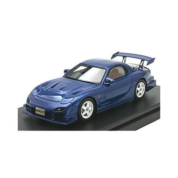 マツダ RX-7 マツダスピード R-SPEC 2000 イノセントブルーマイカ (1/43 ハイストーリーHS205BL)|v-toys
