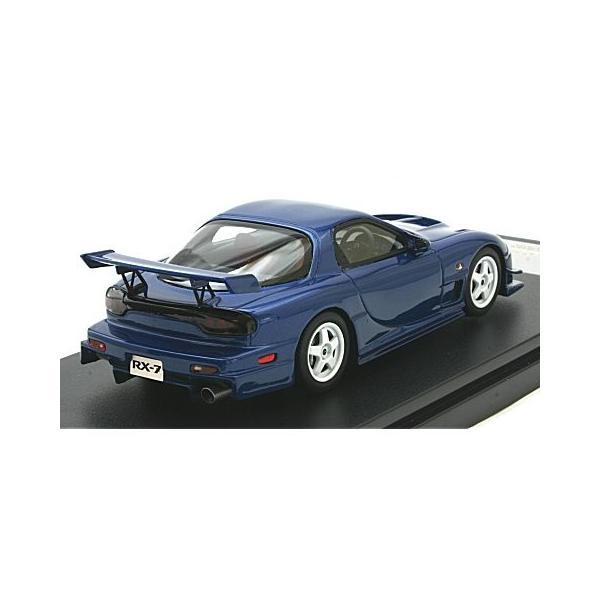 マツダ RX-7 マツダスピード R-SPEC 2000 イノセントブルーマイカ (1/43 ハイストーリーHS205BL)|v-toys|02