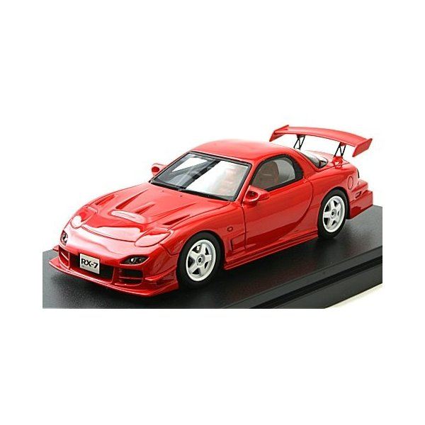 マツダ RX-7 マツダスピード R-SPEC 2000 ヴィンテージレッド (1/43 ハイストーリーHS205RE)|v-toys