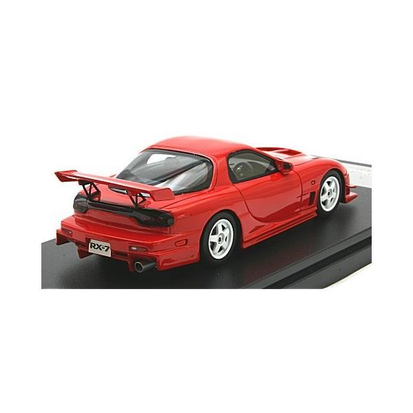 マツダ RX-7 マツダスピード R-SPEC 2000 ヴィンテージレッド (1/43 ハイストーリーHS205RE)|v-toys|02
