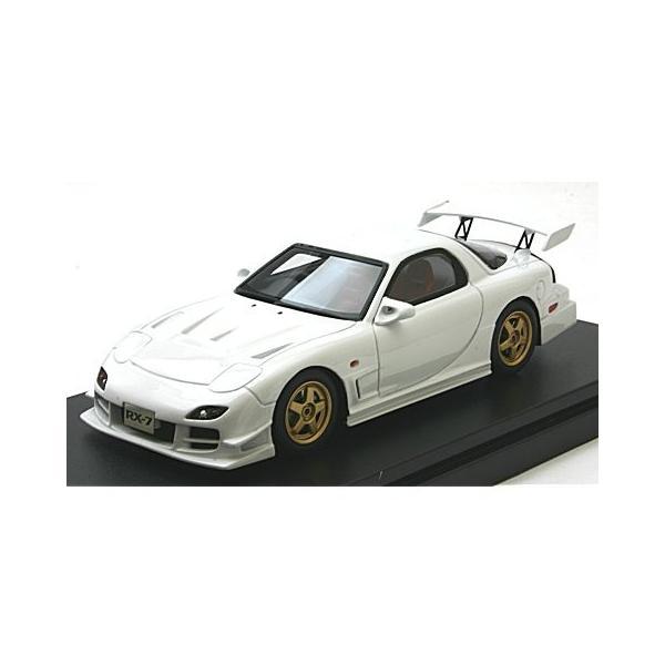 マツダ RX-7 マツダスピード R-SPEC 2000 ピュアホワイト (1/43 ハイストーリーHS205WH) v-toys