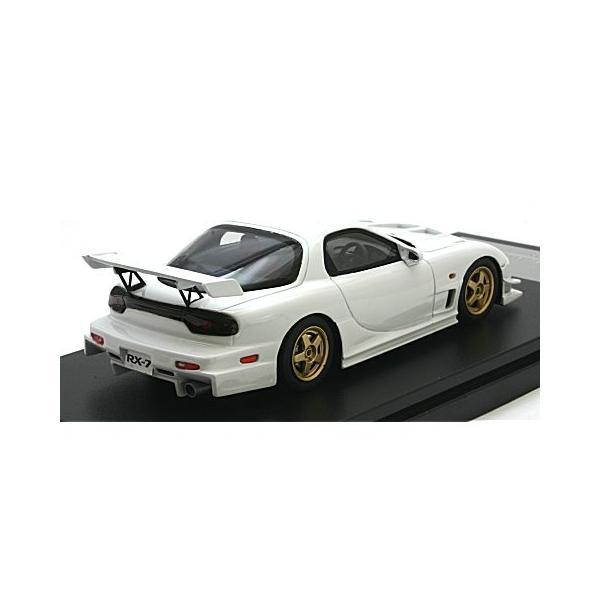 マツダ RX-7 マツダスピード R-SPEC 2000 ピュアホワイト (1/43 ハイストーリーHS205WH) v-toys 02