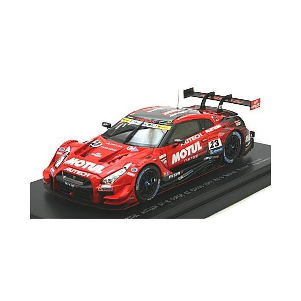 モチュール オーテック GT-R スーパーGT500 2017 Rd.8 茂木ウイナー No23 (1/43 エブロ45504)|v-toys