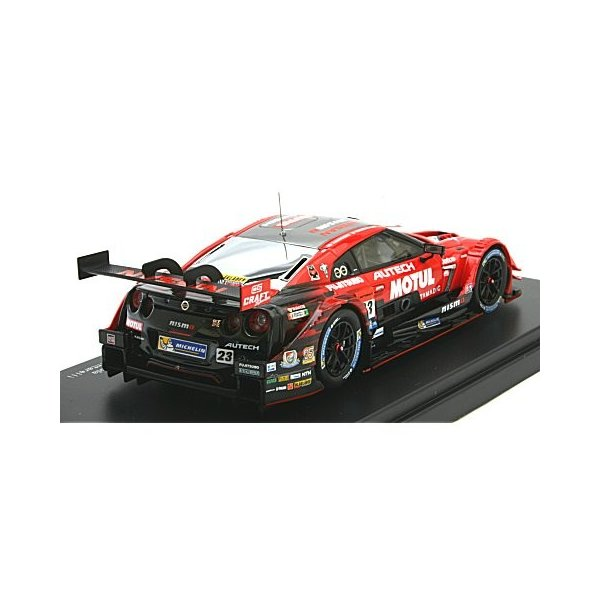 モチュール オーテック GT-R スーパーGT500 2017 Rd.8 茂木ウイナー No23 (1/43 エブロ45504)|v-toys|02