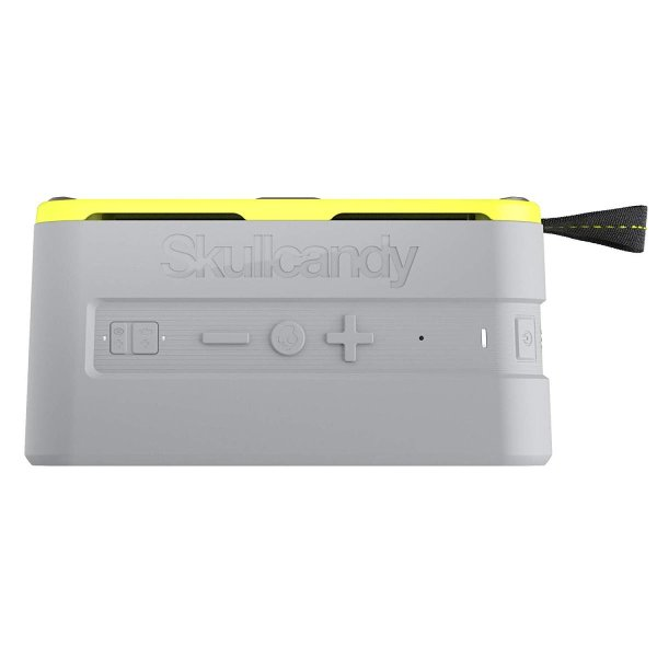Skullcandy 鉄壁ボディー Bluetoothスピーカー IPX7防水機能 耐衝撃 ワイヤレス BARRICADE XL GRAY