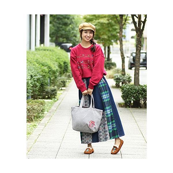 チチカカ ビーズ刺繍ムートンモカシン ZGWJBB7058 L ピンク