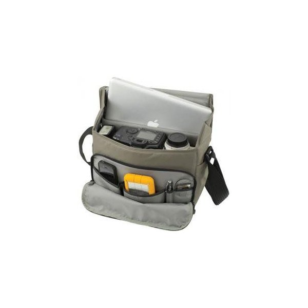 Lowepro ロープロ カメラバッグ Event Messenger 250 For DSLR + Laptop Mica