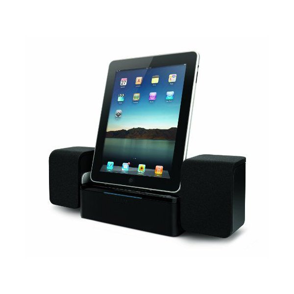iLuv iMM747 Audio Cube Speaker Dock for iPad, iPhone and iPod