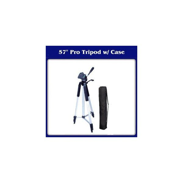 Digital Concepts TR-60N Camera Tripod 三脚 with Carrying Case キャリーケース For Sony HXR-NX3D1, H