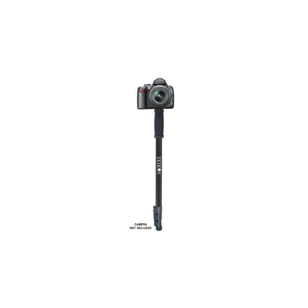 Zeikos ゼイコス ZE-MP72 72-Inch Black Photo/Video Monopod 一脚 モノポッド With Deluxe Soft Case Fo