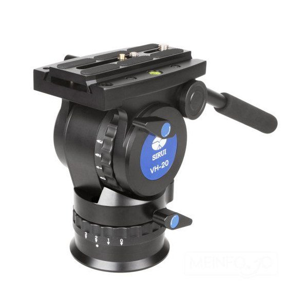 SIRUI シルイVH-20 高精度ビデオ雲台オイルフリュード,バランサー機構搭載【