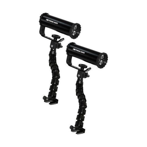 Nocturnal Lights ノクターナル ライツ Dual SLX 800xi Video Light Kit ビデオライト