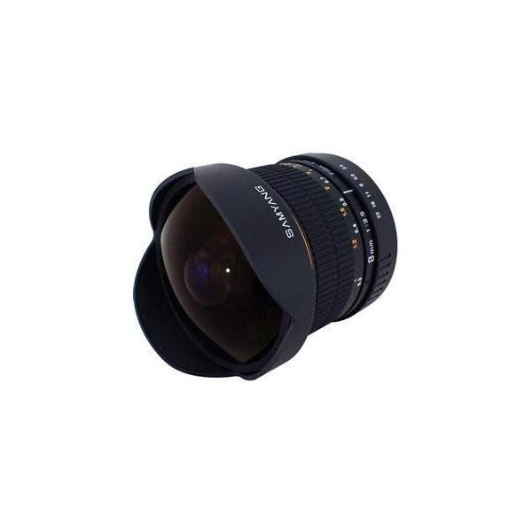 サムヤン/Samyang 8mm f/3.5 Fisheye Lens for Nikon SY8MAE-N SY8MAENK