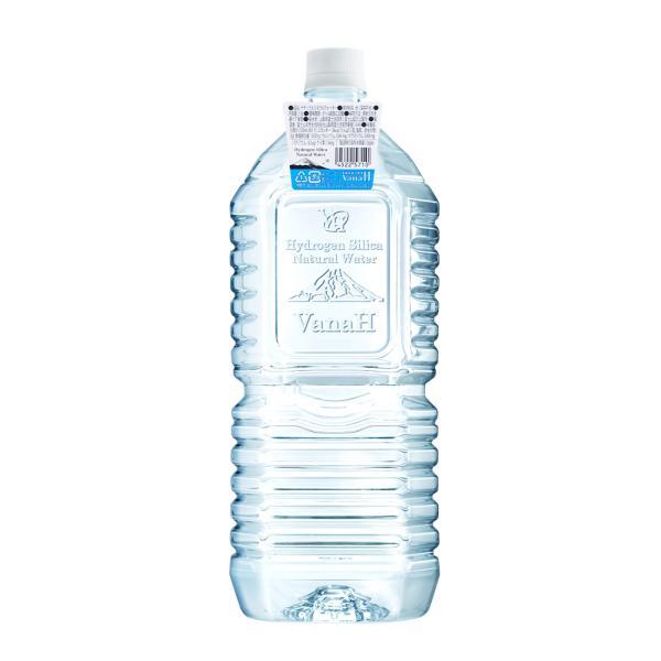 水素水 水素 珪素 天然水 富士山 VanaH  2L×6本入り|vanah-wwij