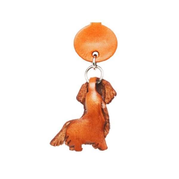 スマホピアス/犬/携帯アクセサリー ゴールデンレトリバー/バンカクラフト 革物語/VANCA CRAFT/レザー/手作り/雑貨/革小物/ドッグ/犬種/わんこ|vanca|02